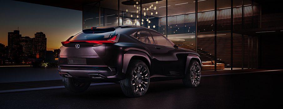 2017 Lexus brand centre stage wol
